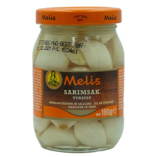 Melis Knoblauch in Salzlake 180 g
