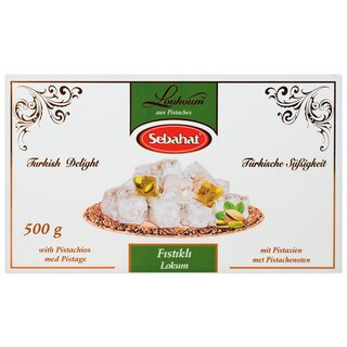 Sebahat Turkish Delight Lokum mit Pistazien 500 g