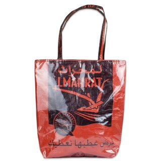 Ali Baba Recycling Tasche Rot 40 x 30 x 9 cm