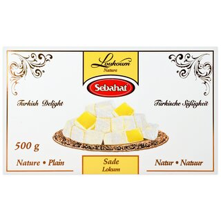 Sebahat Turkish Delight Lokum pur 500 g