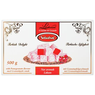 Sebahat Turkish Delight Lokum Granatapfel 500 g